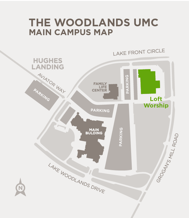 Worship Community Location Map